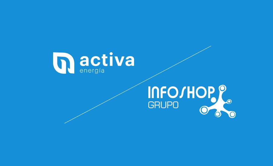 Ahorro en la luz para clientes de Infoshop